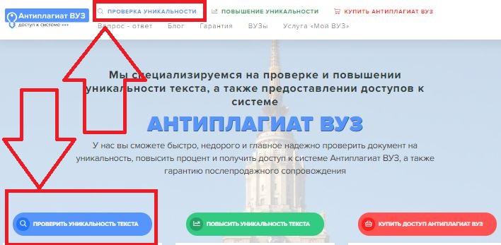 Как скачать отчет Антиплагиат ВУЗ онлайн
