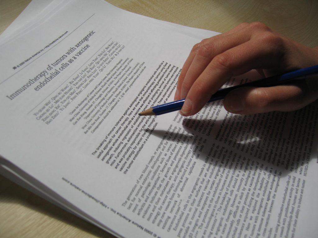 Как написать научную статью студенту