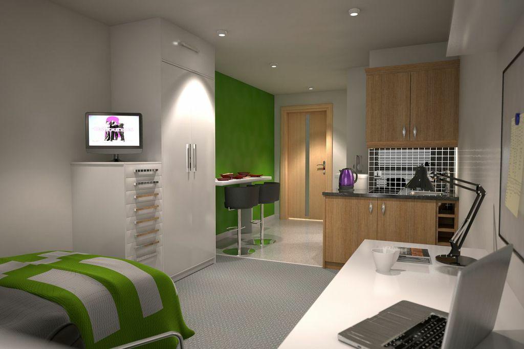 Ремонт общежития студента